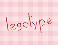 Legotype - Tipografia usando doces