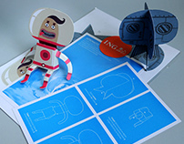 ING Glueless Paper Toys