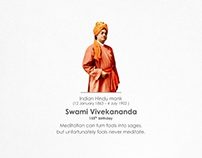 Swami Vivekananda 155th birthday