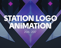 station logo animation