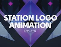 station logo animation