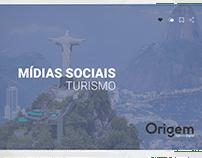 Mídia social turismo