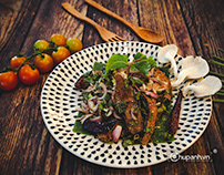 Chụp ảnh món ăn Thái nhà hàng KOH Th