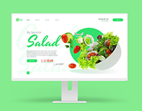 Web design: Greek Salad