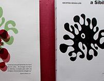 Livro A SIBILA de Agustina Bessa-Luís: folha de rosto