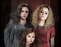 Orphan Black - Season 4 Poster (Top 20 Finalist)