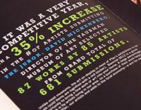 Biennial Exhibit brochure