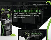 Gama Matcha Tea | Visual Brand Identity