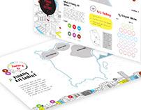 Penang Art Districts Map Brochure Design