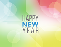 Happy New Year   Flat Design Animation