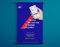 AXA App Ad