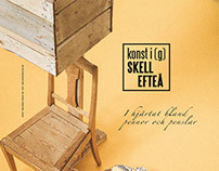 Konst i Skellefteå - Identity Design - Logo & Poster