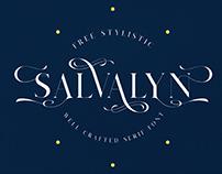 Salvalyn Stylistic Free Font
