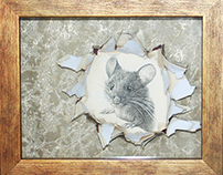 """The work of graphic art """"Mister Mouse"""""""