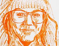 Orange Portraits