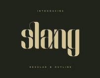 Slang - FREE Ligature Font