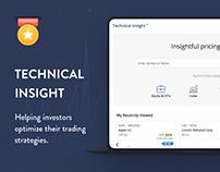 Technical Insight - TA award winning web application