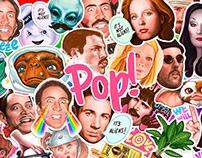Pop! Stickers