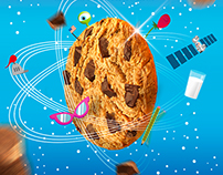 Chips Ahoy - Illustrations