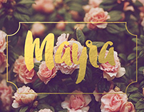 Mayra Boutique Logo Design