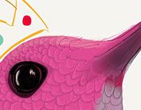 Ilustración Hummingbird