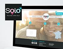 Identité Visuelle  Agence de rencontres Solo