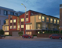 10-unit multifamily building architecture design