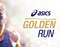 ASICS: LOGOTIPO ASICS GOLDEN RUN | 2016