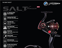 Pflueger Salt Finesse - Spinning Reel