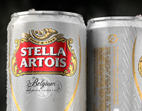 Stella Artois New Can