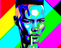 'Pull Up to the Bumper' Grace Jones/test card