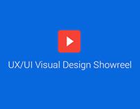 UX/UI Visual Design Showreel