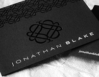 Identity & Brand Development for Jonathan Blake