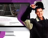 Guerton Website Redesign