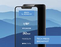 Alcatel TECH PRESS BREAKFAST newsletter