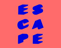 Escape festival logo and brand identity