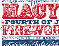Macy's 4th July Poster - digging in the crates!