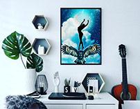 Owl Power Poster