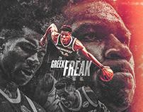 NBA Art | The Greak Freak | Personal Project