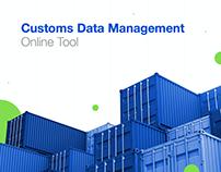 Customs Data Management - UX process case study