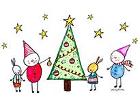 Custom Holiday Greeting Card Designs