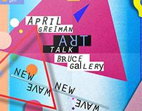 Artist Talk Poster