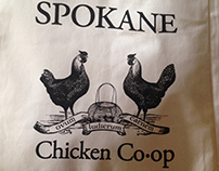 Spokane Chicken Co-op Tote, 2015