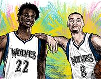 NBA & Sport Illustrations (19)