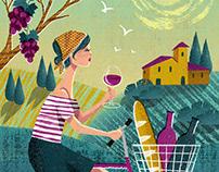 Tuscany wine
