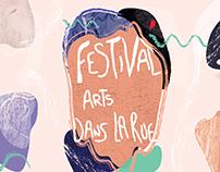 Flyer Festival Arts dans la rue
