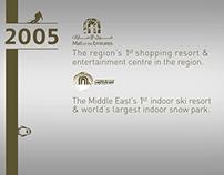 Majid Al Futtaim - 20th Anniversary Infographic