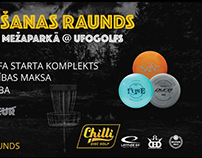 Diskgolfs 1.raunds