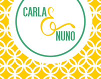 CARLA NUNO - Wedding invitation