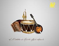 A Batalha do Modesto Camelo Amarelo - Trad Folk Band